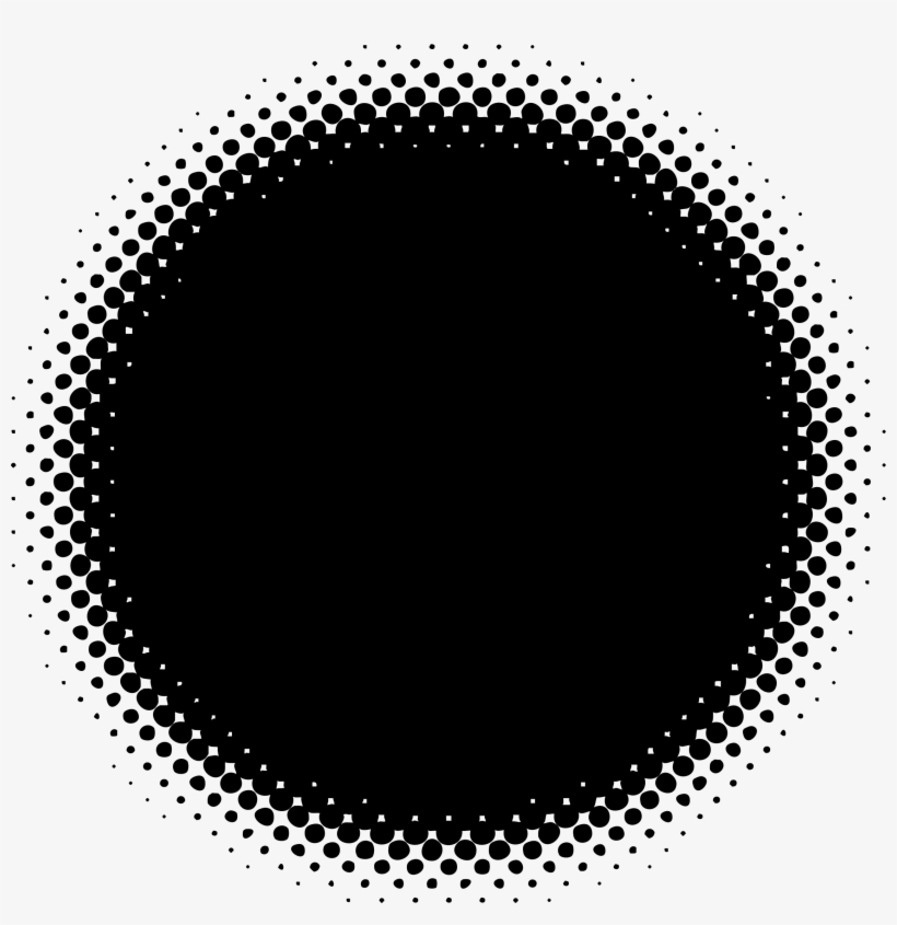 Halftone Pattern Png - Trame Rond Png Transparent PNG - 2265x2225