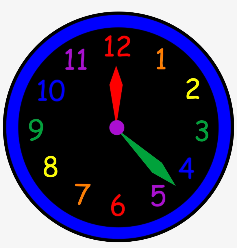 Clock Clipart For Kids Analog Clock With No Hands
