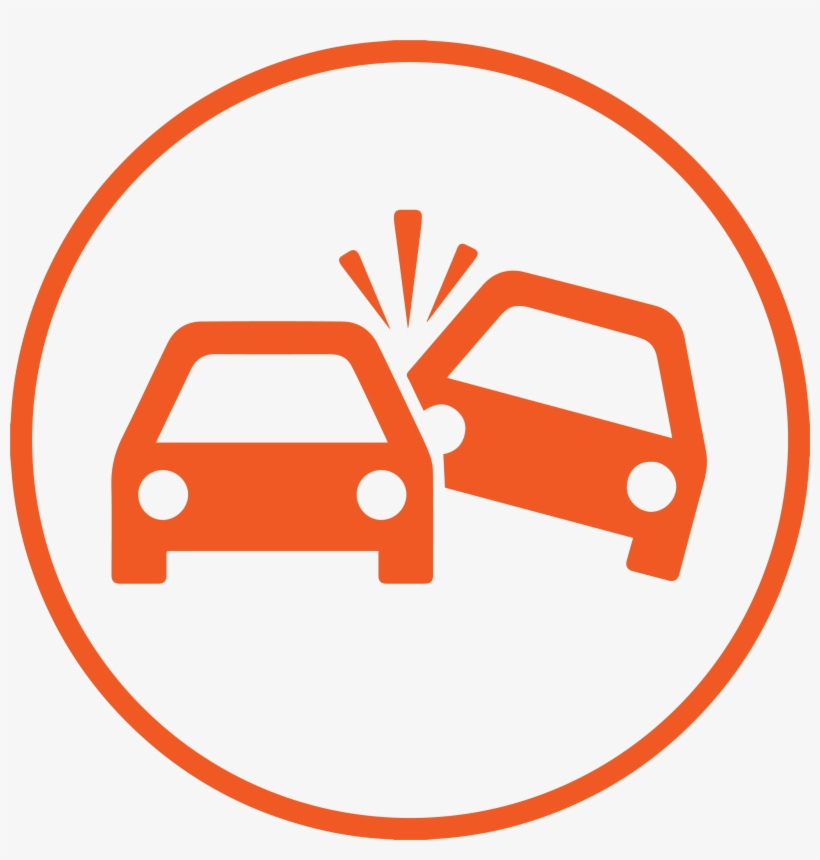 Collision Icon Orange - Png Car Accident Icon Transparent PNG - 2751x2751 - Free Download on NicePNG