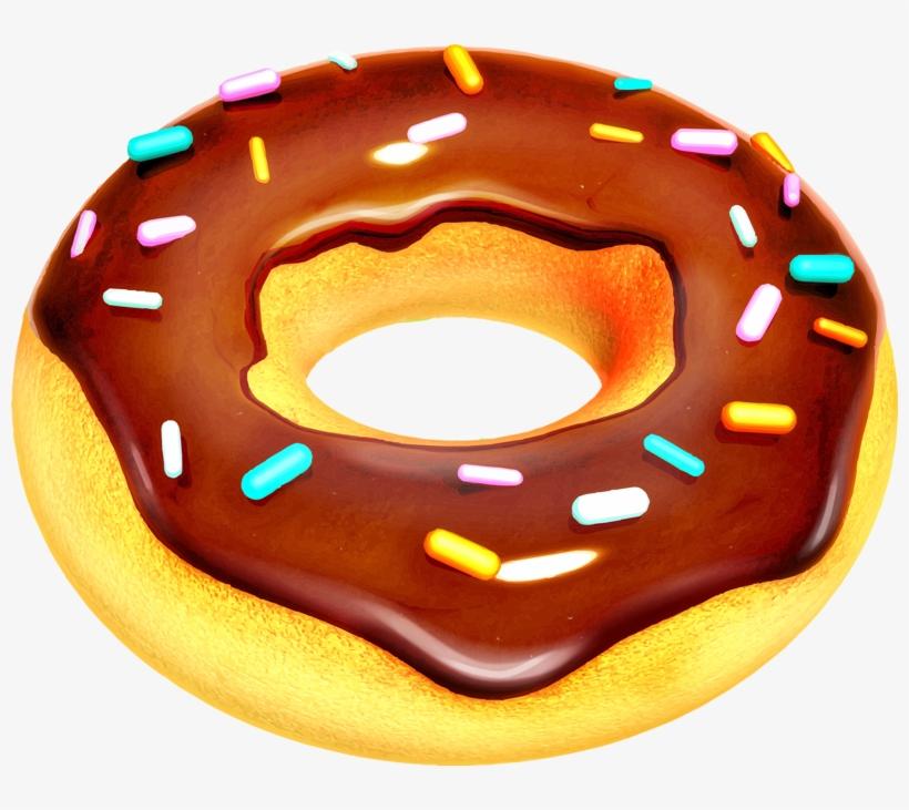 Donut Clipart Dessin De Patisserie Donuts Transparent Png