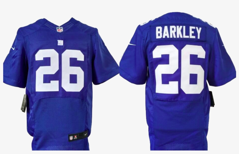 size 40 8499b 9919d New York Giants Jersey - Saquon Barkley Elite Jersey ...