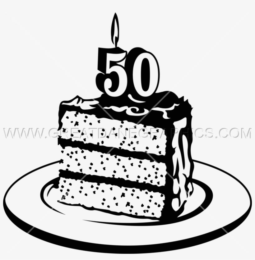 50th Birthday Cake Png