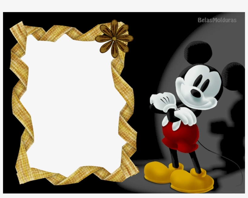 Molduras Do Mickey E Da Minnie Mickey Mouse 3 Dimensi