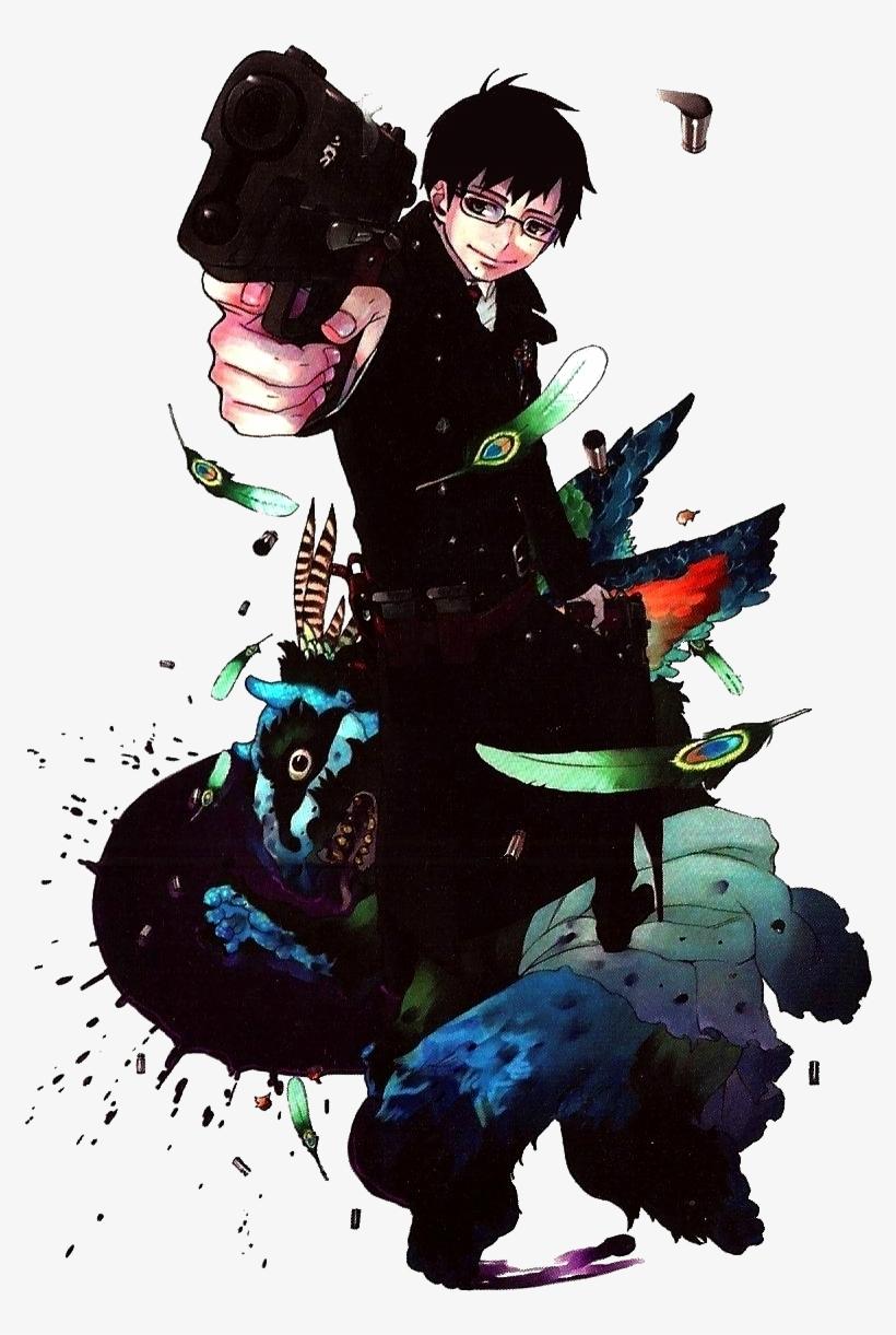 Yukio Okumura Blue Exorcist Yukio Manga Transparent Png 828x1189 Free Download On Nicepng