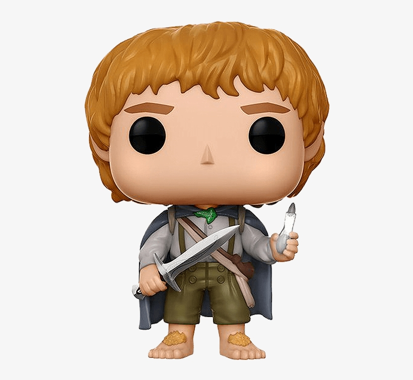 Lotr Samwise Gamgee Pop Figure Once The Young Hobbit Lord Of The Rings Sam Pop Transparent Png 570x570 Free Download On Nicepng