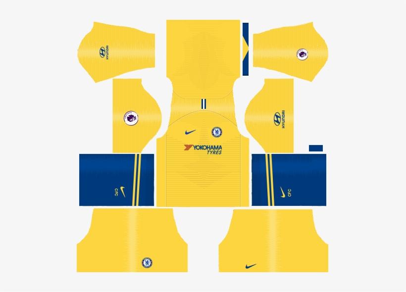 Third Kit - Kits Dls Chelsea 2019 Transparent PNG - 509x510 - Free