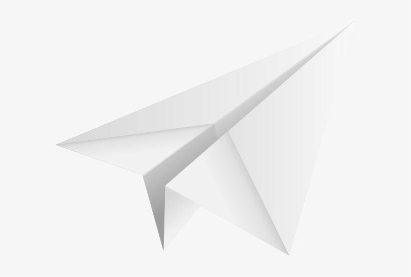 Paper Plane White Paper Plane Icon White Transparent Png