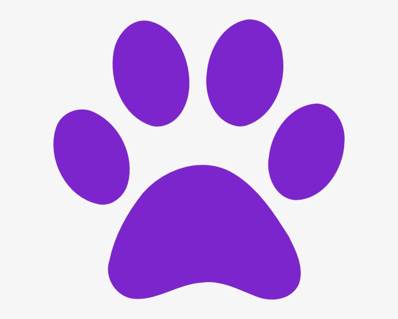 Purple Paw Print Clipart Transparent Png 600x578 Free Download On Nicepng You can now download for free this purple paw print transparent png image. purple paw print clipart transparent