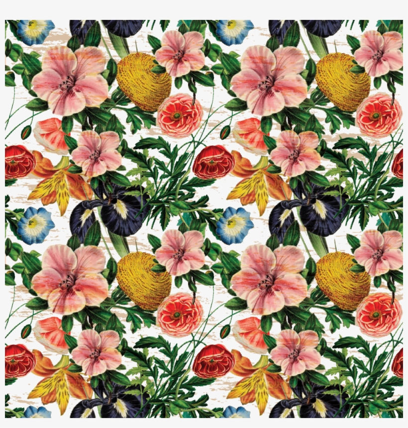 Vintage Flower Pattern Created Using Photoshop And - Bouquet