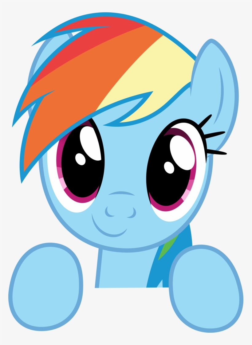 photograph regarding Rainbow Dash Printable titled My Very little Pony - Printable Rainbow Sprint Mask Clear PNG