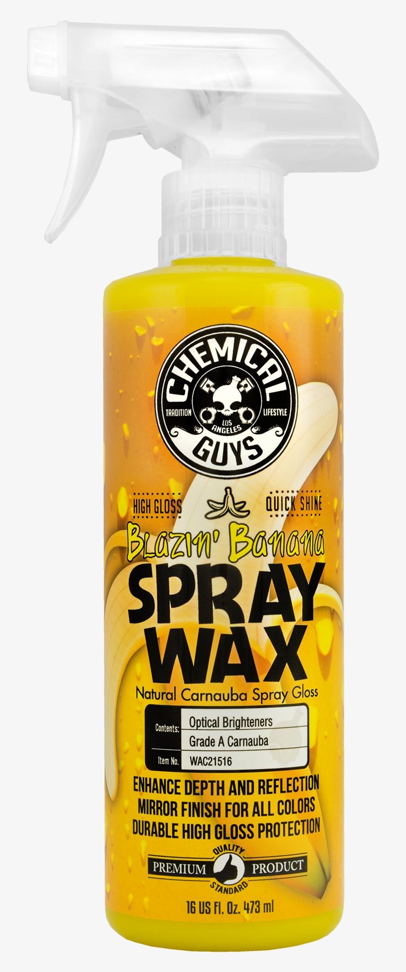 Chemical Guys Banana Wax Transparent PNG - 2000x2000 - Free Download