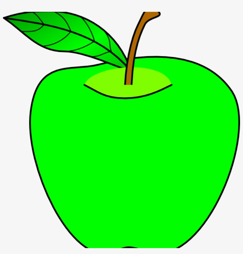 Apple green. Clip art openclipart image