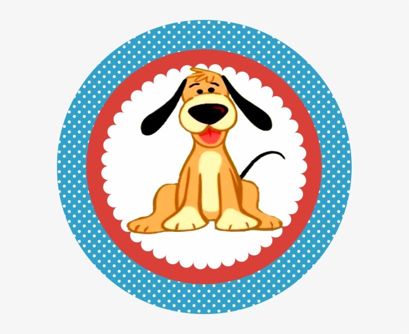 Tag Cachorro Galinha Pintadinha Png Aniversario 1 Topper