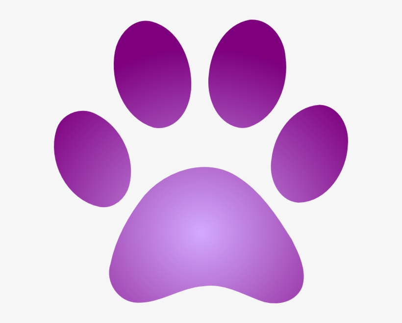 Pics Photos Paw Print Clip Art Clker Com Purple Paw Purple Dog Paw Print Transparent Png 600x578 Free Download On Nicepng Similar with paw prints clip art. pics photos paw print clip art clker