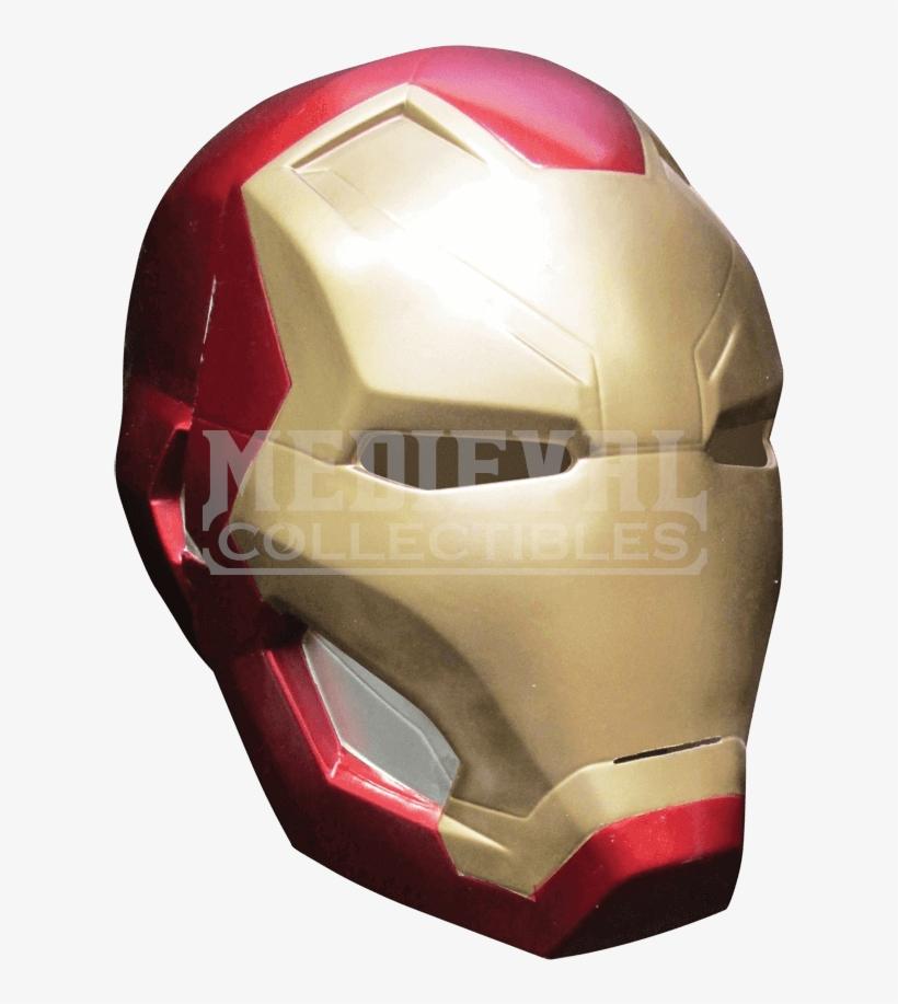 Kids Civil War Iron Man Two Piece Mask Iron Man Mask Transparent