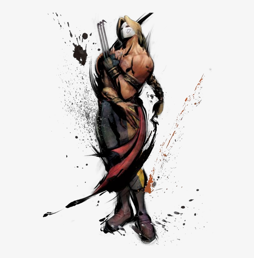 Street Fighter 4 Png Clip Black And White Download Street