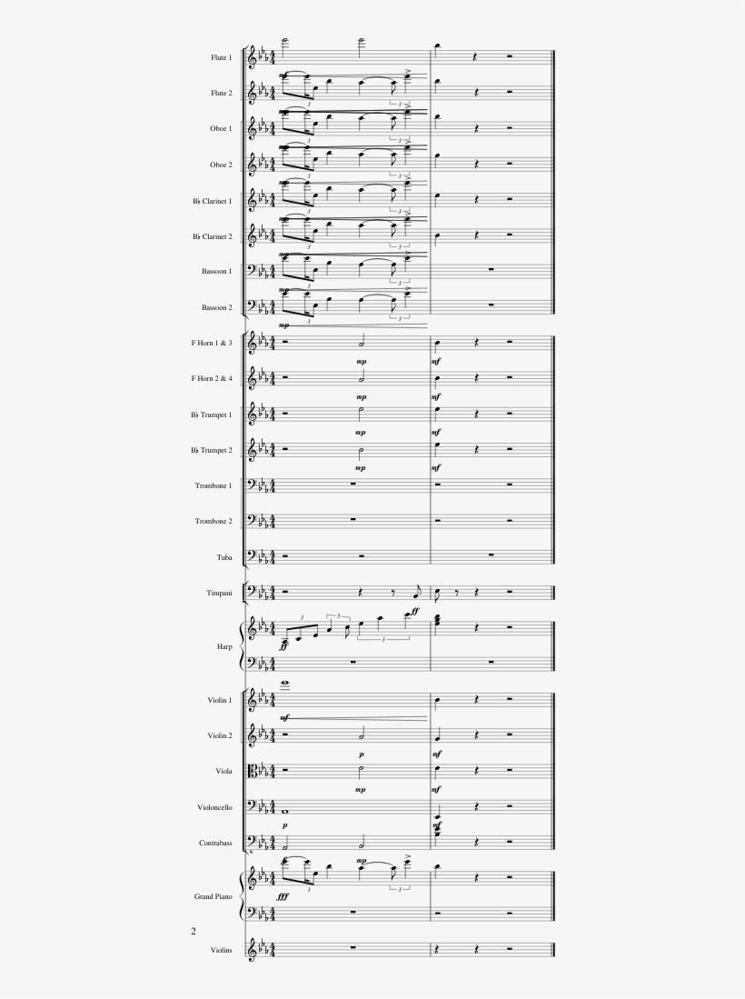 Windows Xp Startup Sheet Music 2 Of 2 Pages - Windows Xp Startup
