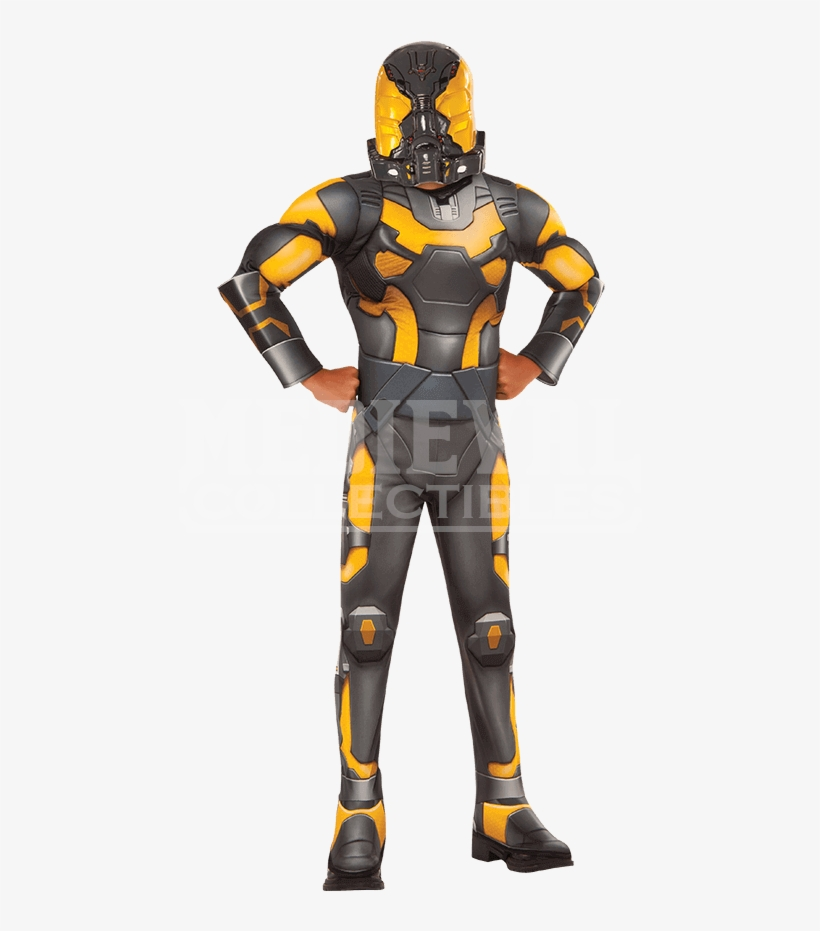 Yellow Jacket Ant Man Costume Transparent Png 850x850 Free