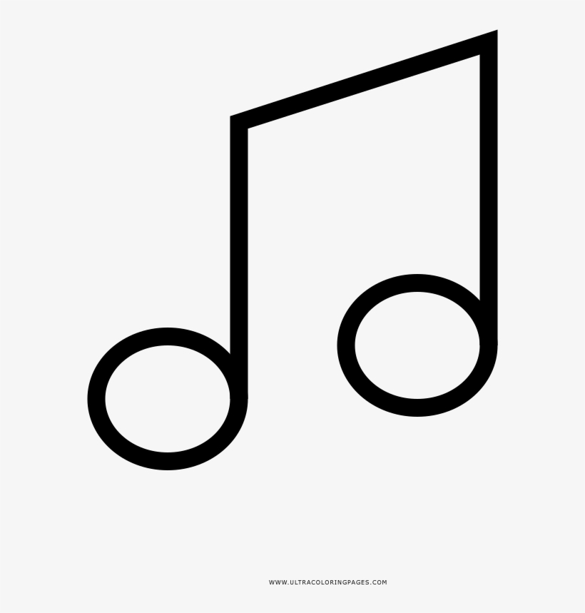 Nota Musical Desenho Para Colorir Ultra Coloring Pages Music