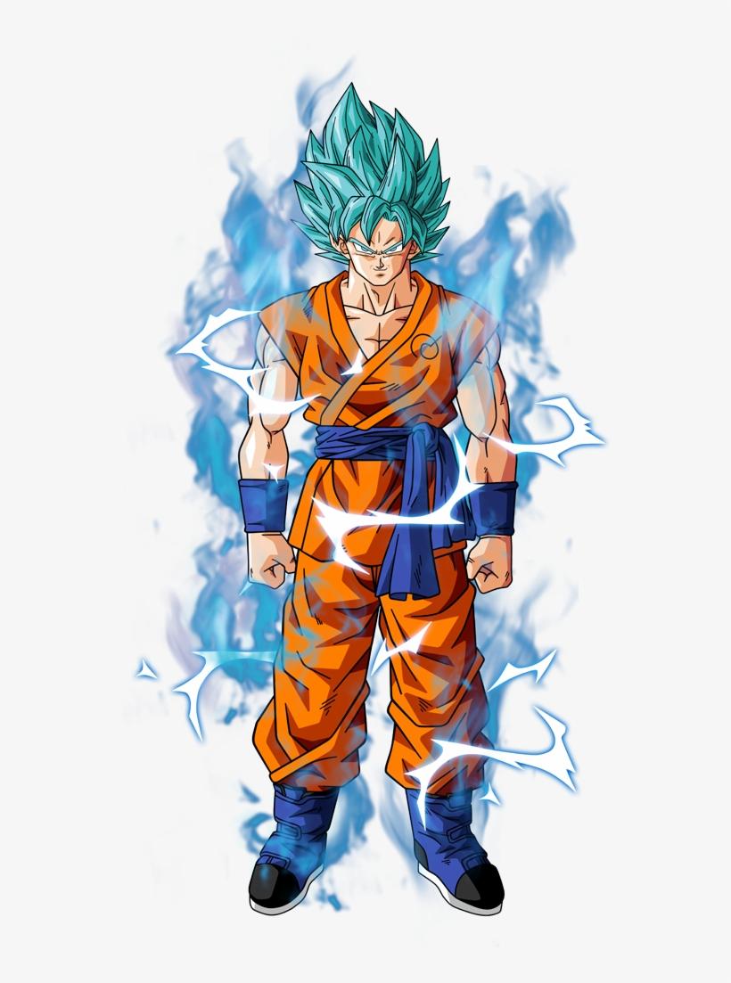 Super Saiyan Blue Goku Goku Dragon Dragon Ball Super Transparent