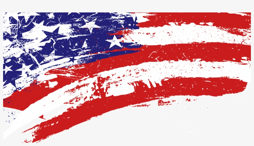 Usa Flag Wallpaper Free Download Red White Blue Paint Splatter