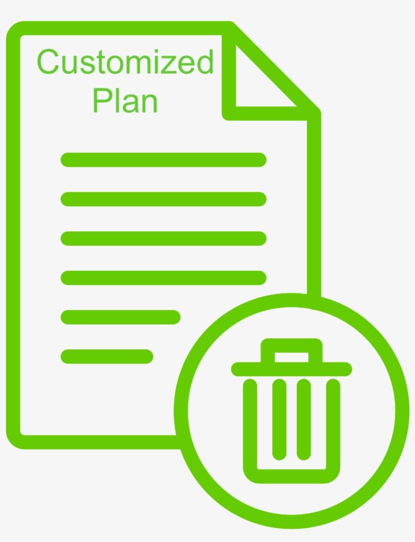 Customized Construction Waste Management Plan Resume Logo
