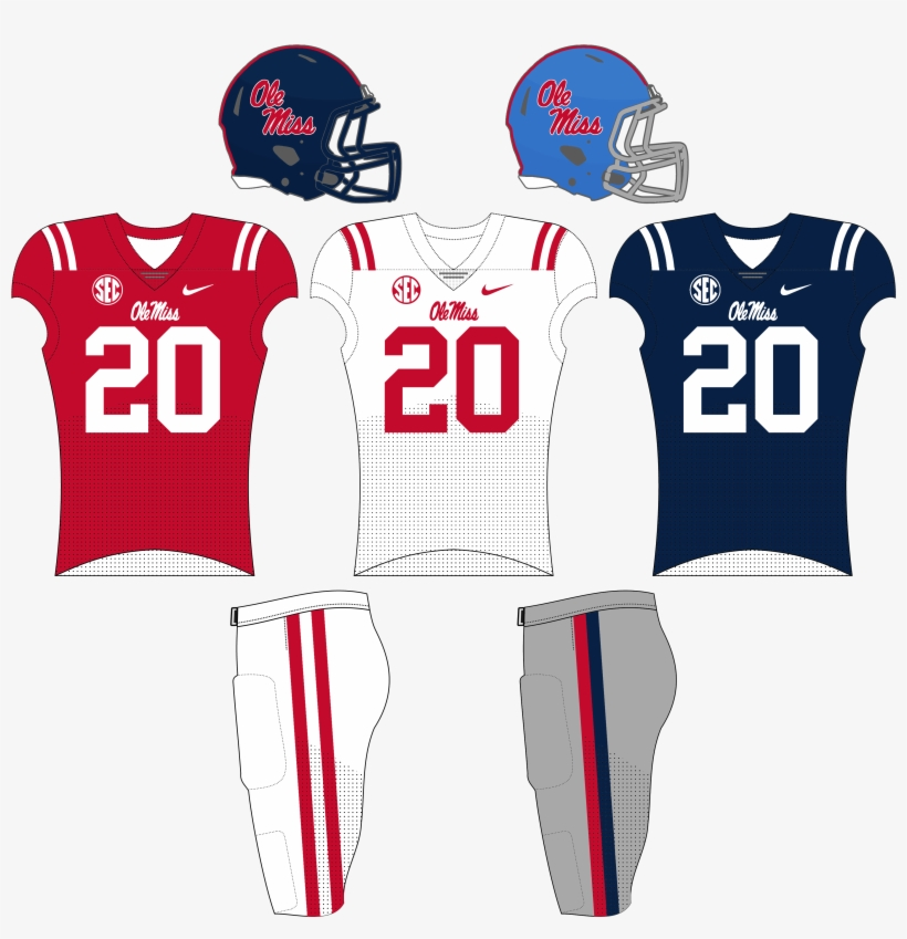 low priced 4f8e3 4c06e Om Pre 2017 Unis - Ole Miss Baby Blue Football Jersey ...