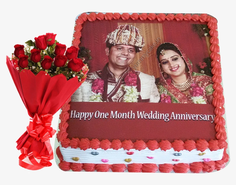 Happy 1st Wedding Anniversary Cake Transparent Png 800x600 Free Download On Nicepng