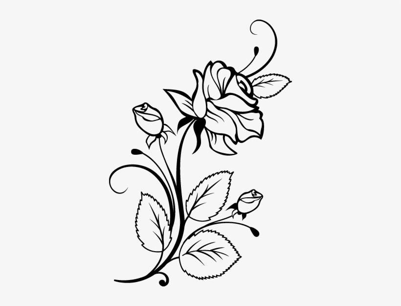 Rosas Animadas Para Colorear Faciles