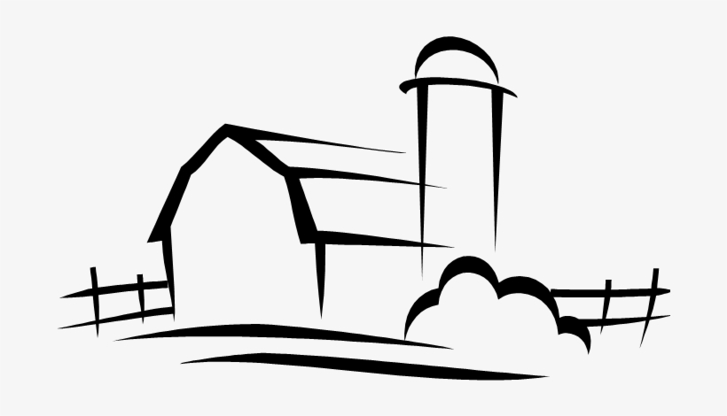 Line Draw Barn Farm Girls Get Dirty Sticker Transparent Png
