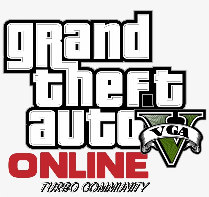 Gta 5 Picture Grand Theft Auto V Online Logo Transparent Png