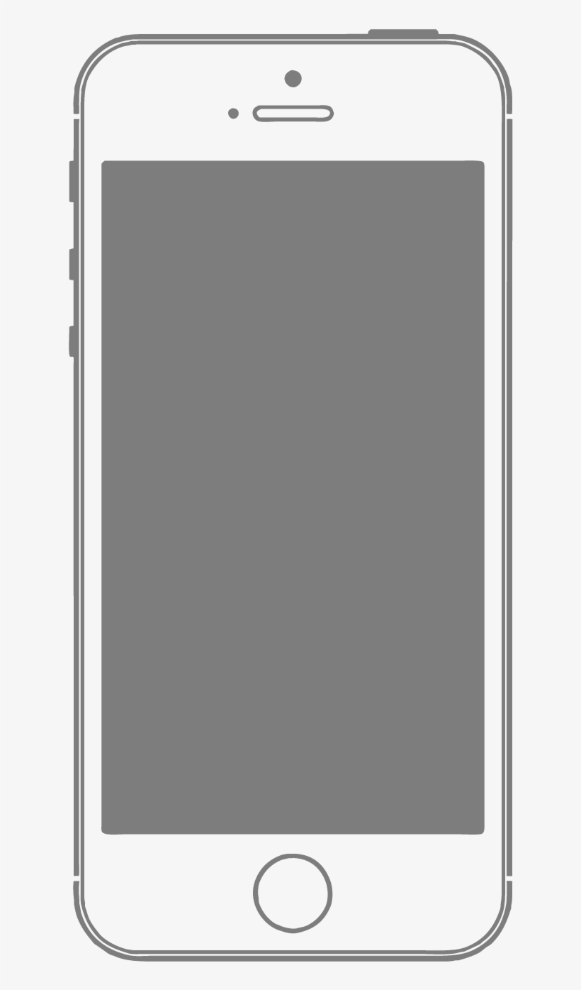 Smartphone Mobile Frame Material Feature Phone Vector
