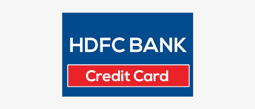 Card Hdfc Credit - Hdfc Bank Credit Card Logo Transparent PNG