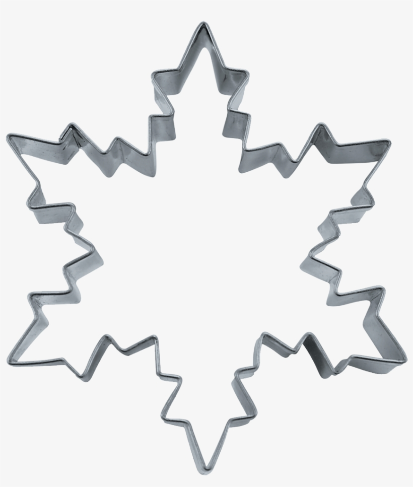 Cookie Cutter Ice Crystal Christmas Cookie Cutters Snowflake