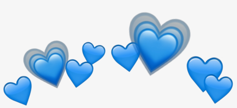 Blue Heart Tumblr Png Clipart Png Heart Tumblr Blue - Hearts
