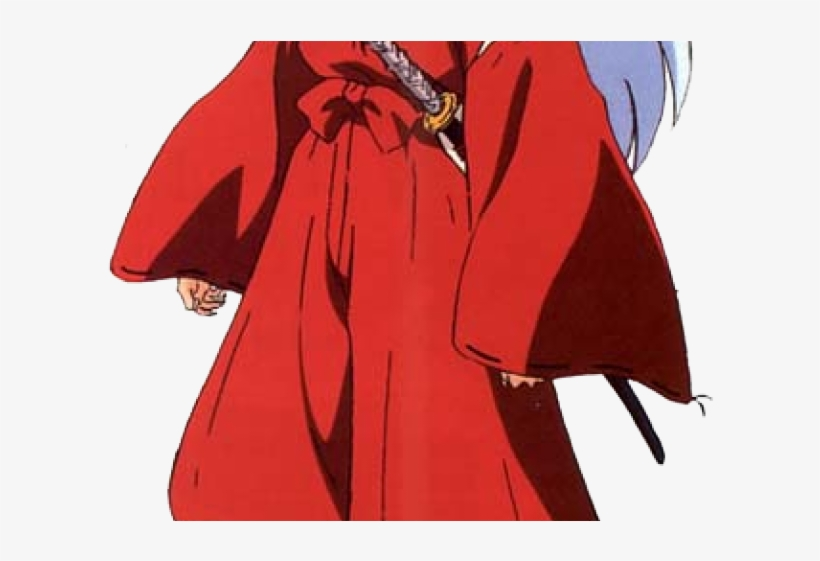 Inuyasha Clipart Anime Anime Character Red Clothes