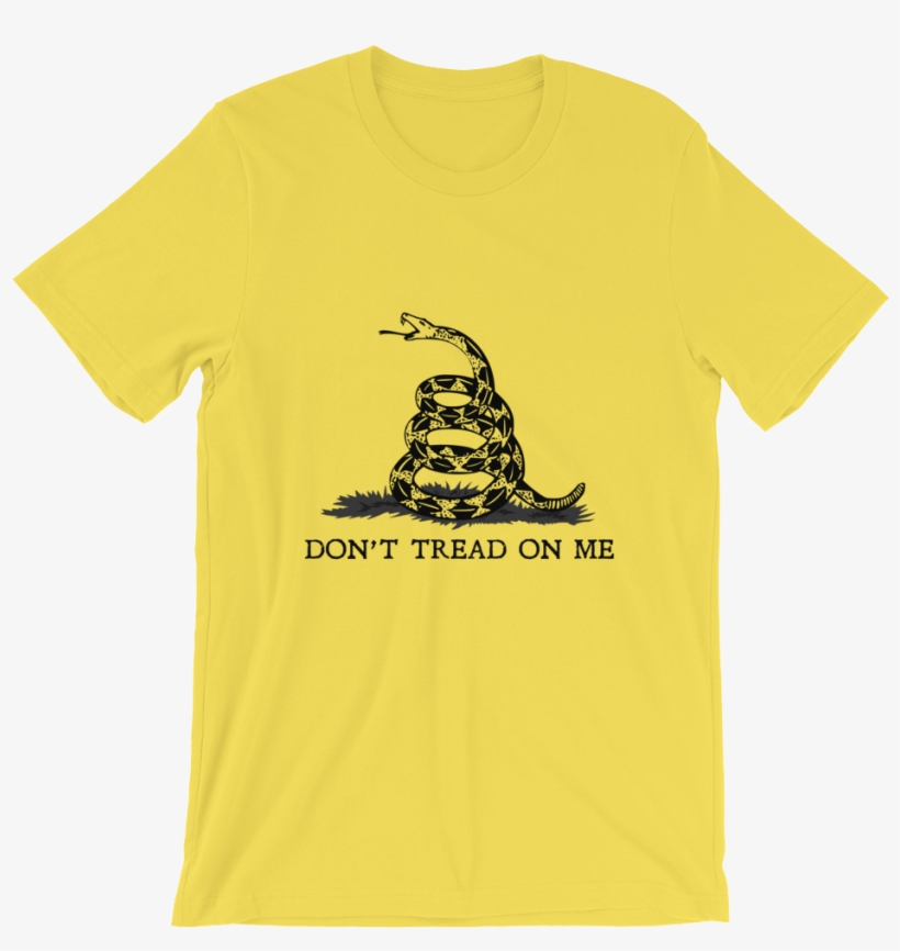 98271f61b Don't Tread On Me Gadsden T-shirt - Make Faces With Parentheses ...