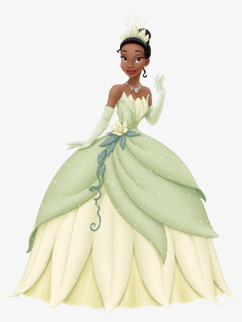 Tiana Disney Princess And The Frog Transparent Png 879x1102