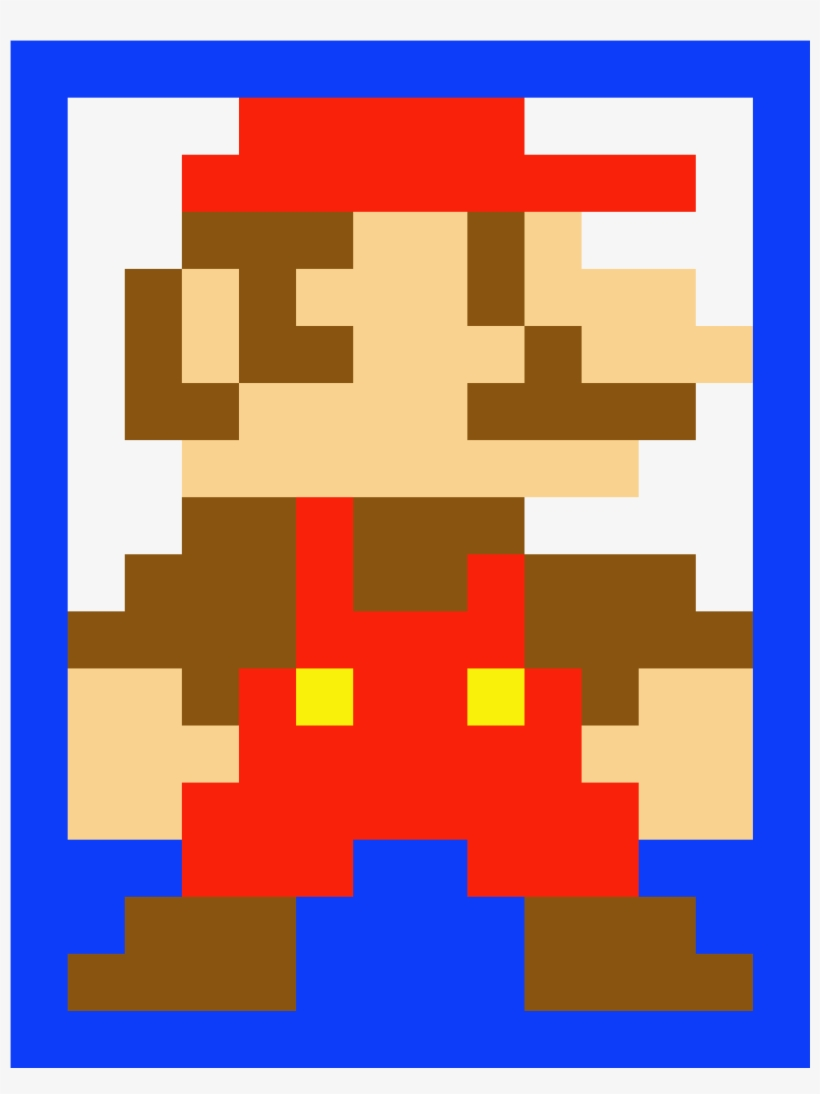 Super Mario Bros Mario Bros Pixel Art Minecraft Transparent Png
