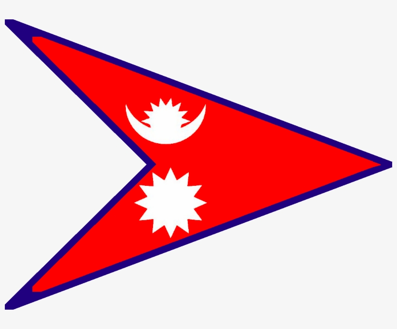 Redesignsquadrilateral Flag Of Nepal - Nepal Flag And Map ...