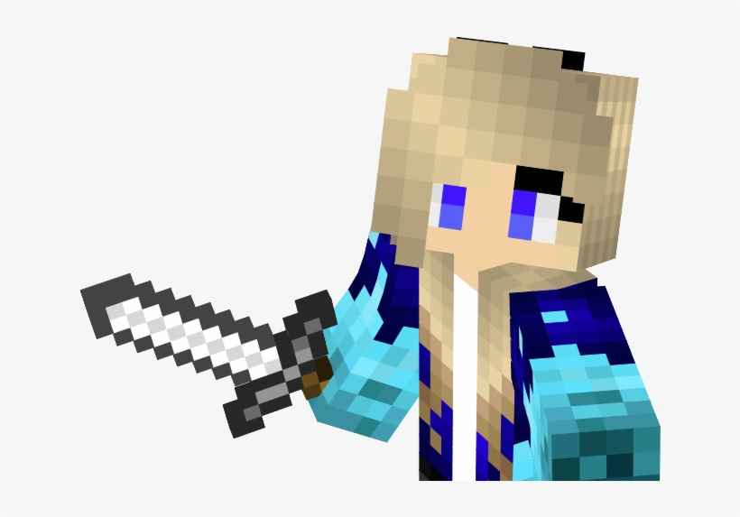 For That You Can Used Nova Skin - Moving Minecraft Girl