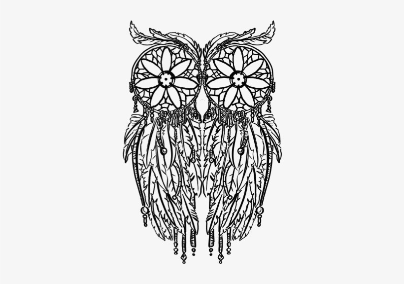 Dreamcatcher coloring page | Coloring pages for adults ... | 576x820