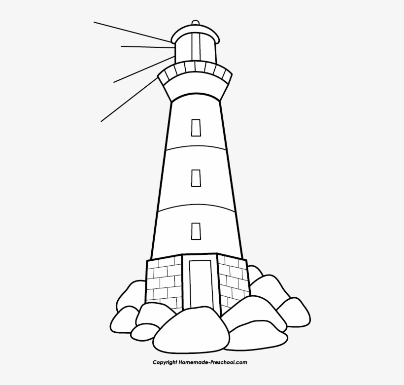 Swell Free Lighthouse Clipart Lighthouse Images Clip Art Interior Design Ideas Pimpapslepicentreinfo