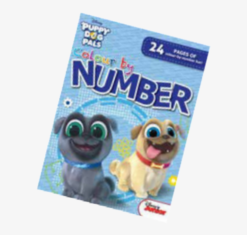 Disney Puppy Dog Pals Colour By Numbers Pug Transparent Png 700x700 Free Download On Nicepng