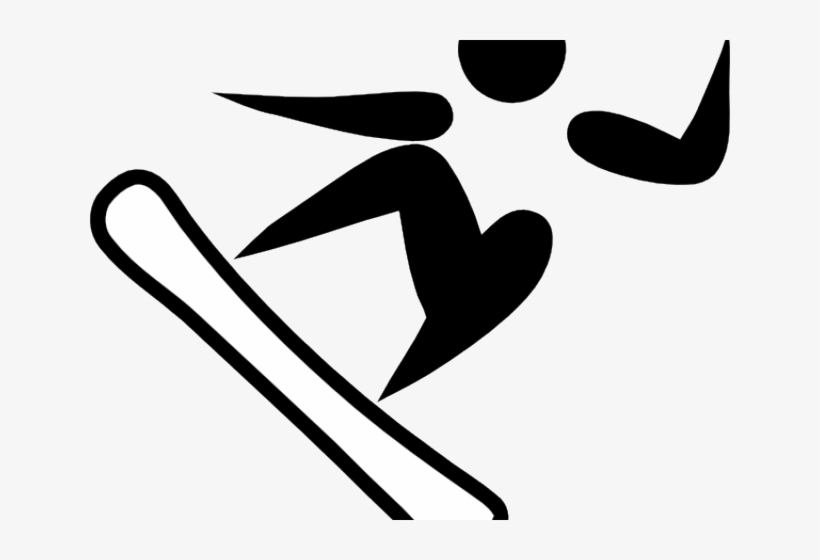 Snowboarding Clipart Stick Figure Olympic Snowboarding Transparent Png 640x480 Free Download On Nicepng