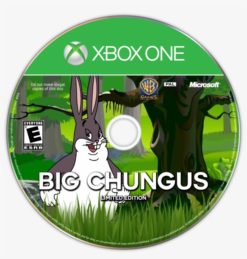 Some Stuff About Big Chungus Xbox One Disc Winterolympics Xbox One