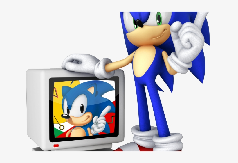 Sonic The Hedgehog Clipart Video Game Character Sonic The Hedgehog 20th Anniversary Transparent Png 640x480 Free Download On Nicepng