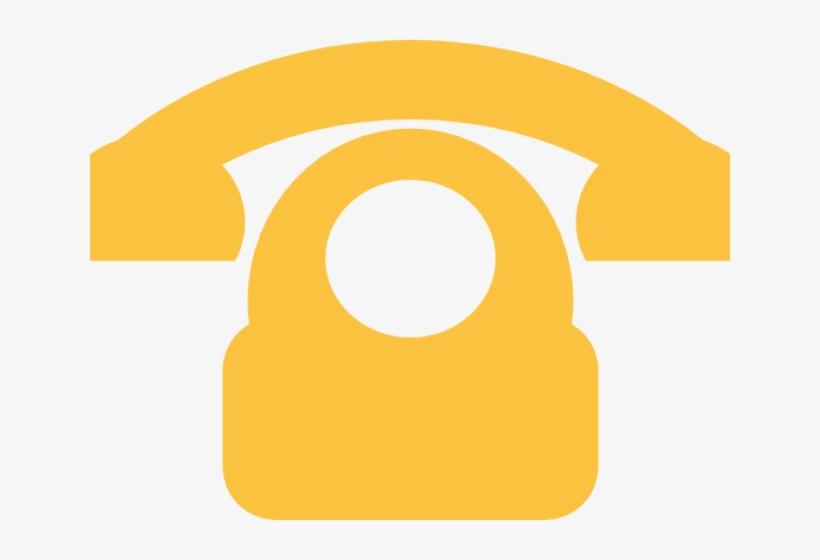 Phone yellow. Clipart blue transparent telephone