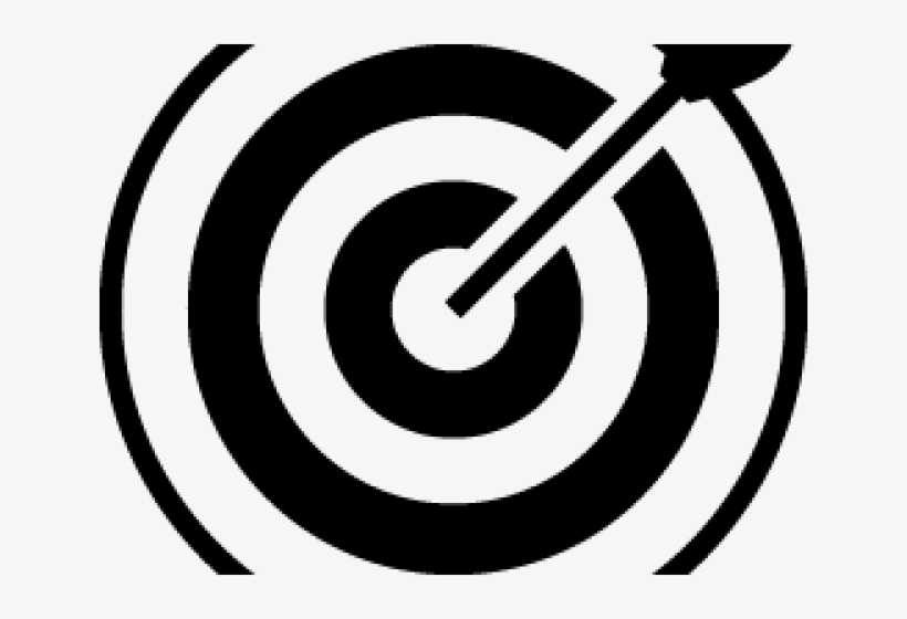 Target Black And White Transparent Transparent Png 640x480