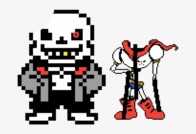 Horrortale Sans And Underworld Papyrus - Sans Game